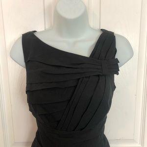Suzi Chin for maggy boutique black dress-size 6P